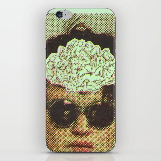 the human brain iPhone & iPod Skin