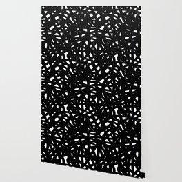 B&W Freeform Wallpaper