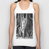 thailand Tank Tops featuring thailand by nosoulrobot