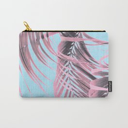 Delicate Pink Palms Carry-All Pouch