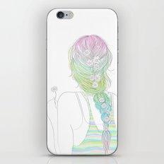 daisy braid iPhone Skin