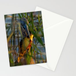 BLUE HERON'S FRIDAY SUNDOWN FISH FEAST Stationery Cards