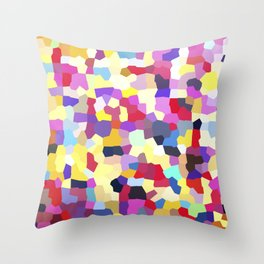 Colorful pattern no. 3 Throw Pillow
