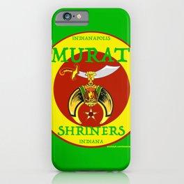 Murat Shriners, 1884, Yellow & Red iPhone Case