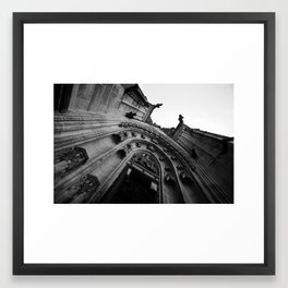 St Vitus Cathedral Framed Art Print