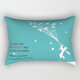LITTLE PRINCE -Le petit prince- art poster Rectangular Pillow