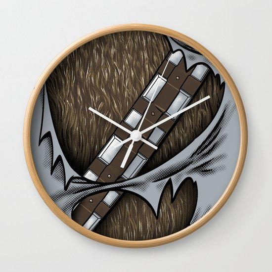 Co-Pilot Uniform Wall Clock