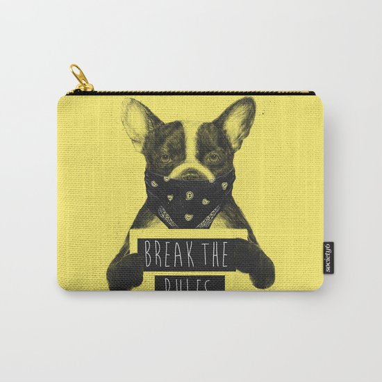 Rebel dog (yellow) Carry-All Pouch