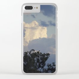 Mountains or Clouds? Clear iPhone Case