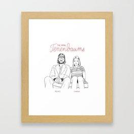 The Royal Tenenbaums (Richie and Margot) Framed Art Print