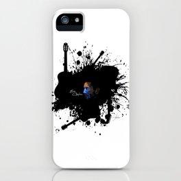 Blue Clapton iPhone Case