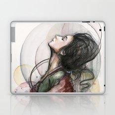 Beauty Illustration Beautiful Woman Feminine Portrait Laptop & iPad Skin
