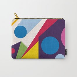 Abstract modern geometric background. Composition 11 Carry-All Pouch