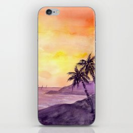 Sunset in the Tropics iPhone Skin