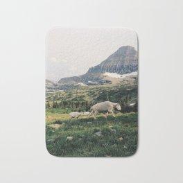 Montana Mountain Goat Family Bath Mat