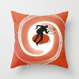 Vertigo - Movie Poster Throw Pillow