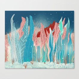 Playing hide and seek Canvas Print
