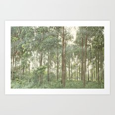 between the lines::uganda Art Print