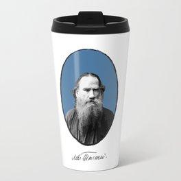Authors - Lev Tolstoj Travel Mug