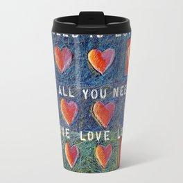 All You Need Is Love 3 Travel Mug