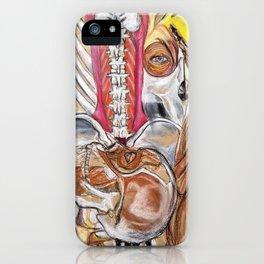 Anatomy Mash-up iPhone Case