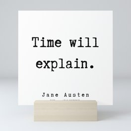 78    | Jane Austen Quotes | 190722 Mini Art Print