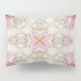 Pink Chrysanthemums Kaleidoscope Art 1 Pillow Sham