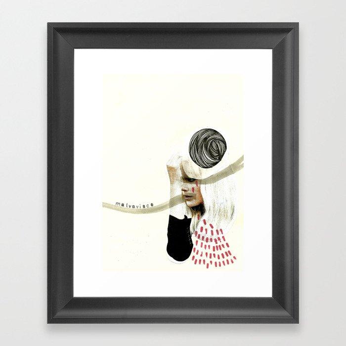malvavisco Framed Art Print
