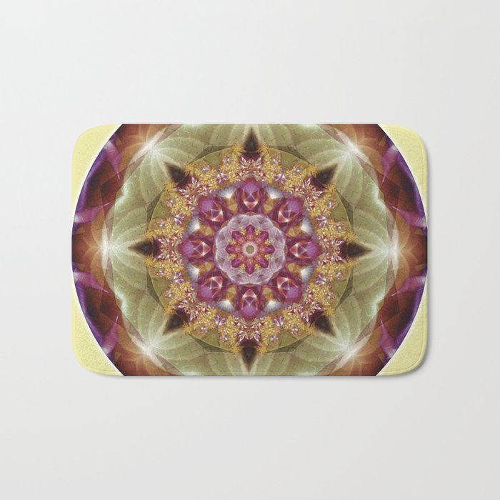 Mandalas from the Heart of Peace 1 Bath Mat