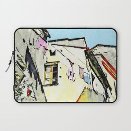 Tortora glimpse with window and hanging clothes Laptop Sleeve