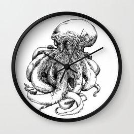 Octopus III Wall Clock
