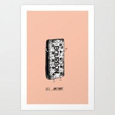 Nice Bourbon Art Print