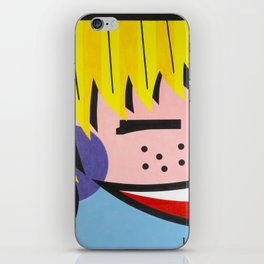 Little Blondie - Paint iPhone Skin