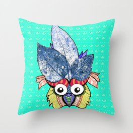 • CR owl • Throw Pillow