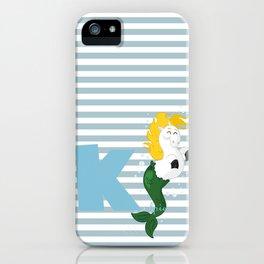 k for kelpie iPhone Case