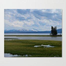 Pelican Creek - Yellowstone Lake Canvas Print