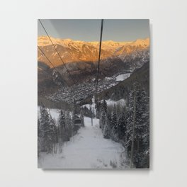 Telluride Col Metal Print