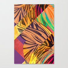 Mad Butterfly Canvas Print