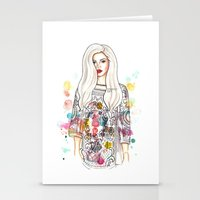 selena Stationery Cards featuring selena illustration by sparklysky