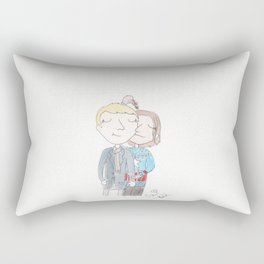 Stucky - Mistletoe Kiss Rectangular Pillow