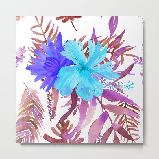 Floral Paradise II Metal Print