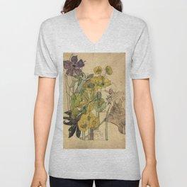 Spurge With Yham - Charles Rennie Mackintosh - 1909 Unisex V-Neck
