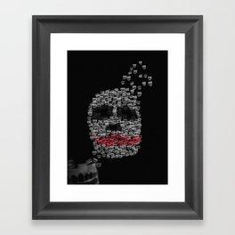 Psycho rising Framed Art Print