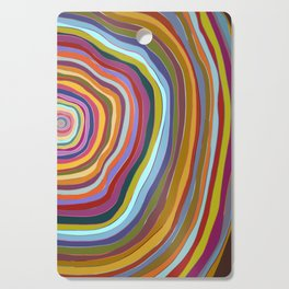 Tree Rings Cutting Board