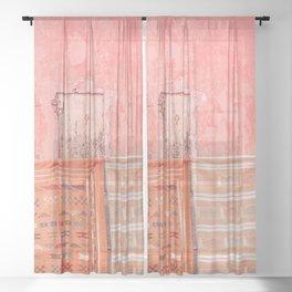 Marrakech Markets Sheer Curtain