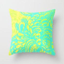 Amorph - lemon & lime Throw Pillow