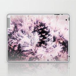White Pine, Christmas Snowfall Laptop & iPad Skin