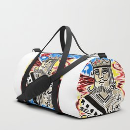 King Of Cards Duffle Bag