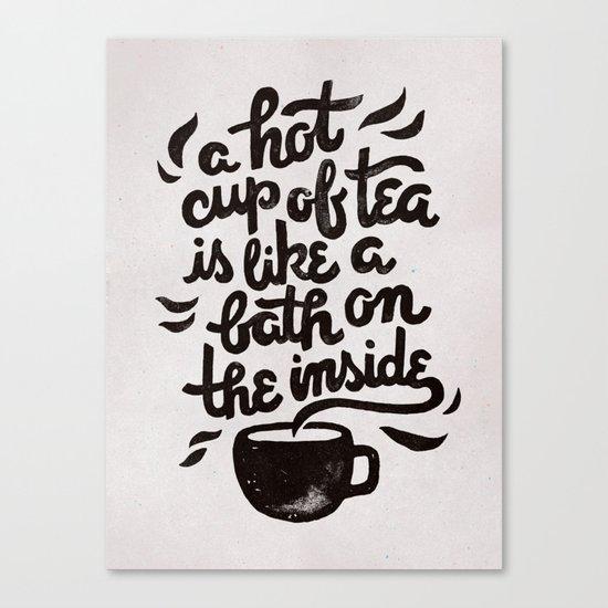 Hot Tea Canvas Print