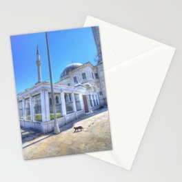 Istanbul Mosque Cat Stationery Cards